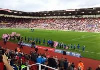 Stoke mot Swansea2014
