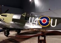 En Spitfire på The Potters & Arts Museum