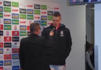 Shawcross berättar om vad han tyckte om matchen
