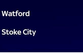 Watford-Stoke