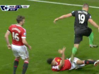 Manchester United -Stoke