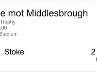 Stoke-Middlesbrough