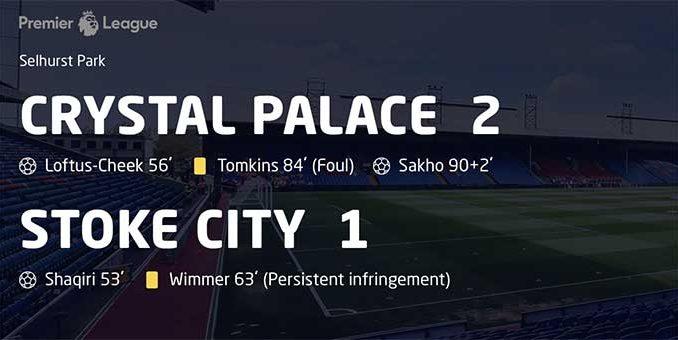 Crystal Palace-Stoke